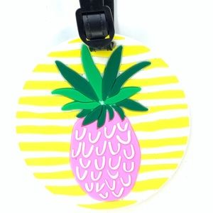 Pineapple Luggage Tag New